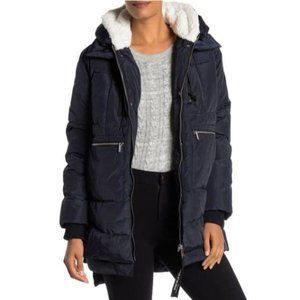 Bagatelle Sport Thermal Puff Faux Shearling Jacket